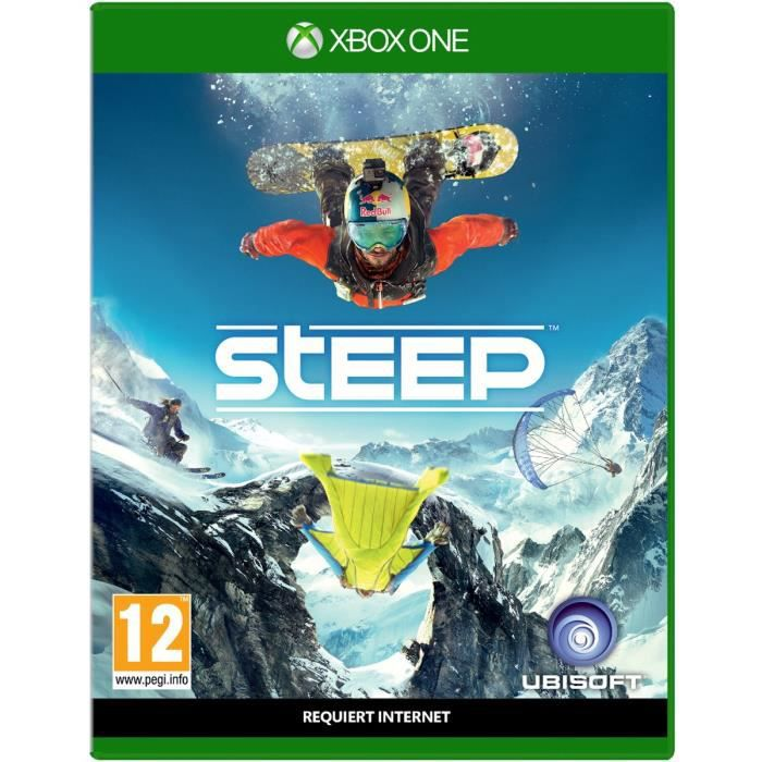 steep jeu xbox one avis test cdiscount. Black Bedroom Furniture Sets. Home Design Ideas
