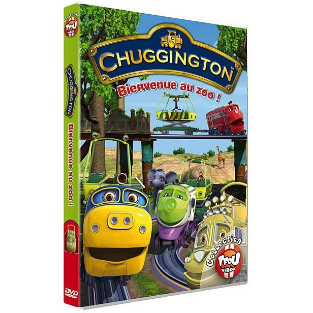 Dvd chuggington bienvenue au zoo vol 3 en dvd dessin - Chuggington dessin anime ...