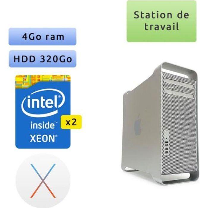 Apple Mac Pro Quad Core A1186 (EMC 2113) 4x 2.66GHz - MacPro1,1 - Station de Travail