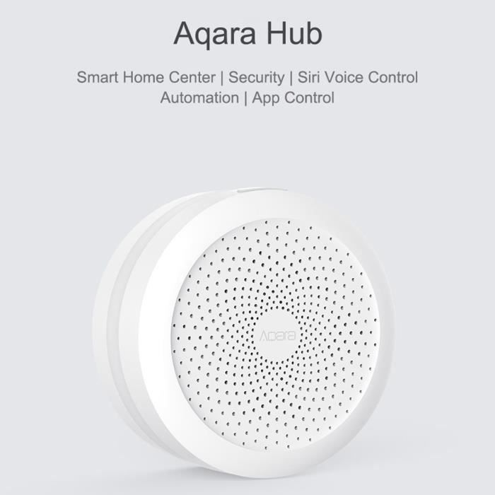 Aqara Hub Mi passerelle avec Rgb Led Night Light intelligent Travailler avec Apple Homekit _y2165
