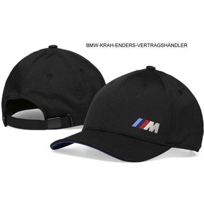 BMW M Collection Bonnet Casquette M Power réglable bande BMW M bandes 80162454739