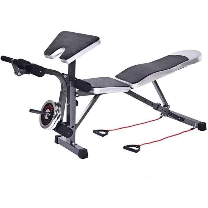 Banc de musculation Banc d'haltères réglable Équipement de fitness Banc de musculation Presse de banc de poids Banc de musculation N