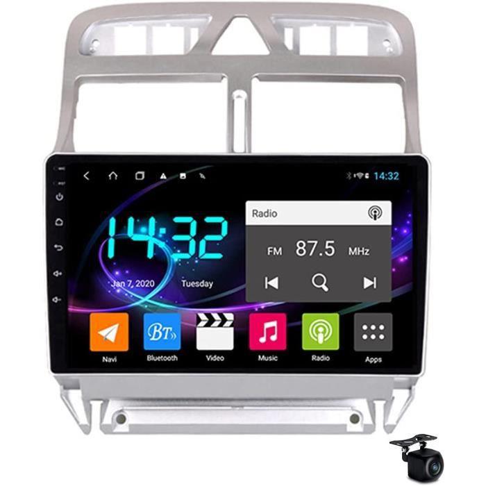 Android 10,0 Voiture Stéréo Radio Sat Nav pour Peugeot 307 2002-2013 GPS Navigation 2 Din Head Unité 9in Multimédia Écran Vidé[121]