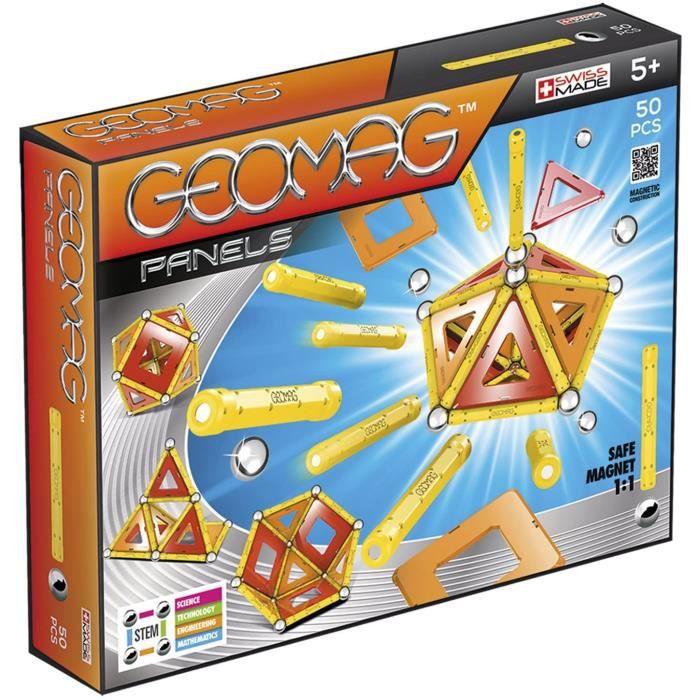 Jeux de construction Geomag - GMP04 - Jeux de Construction - Panels - 50 - Pièces 52111