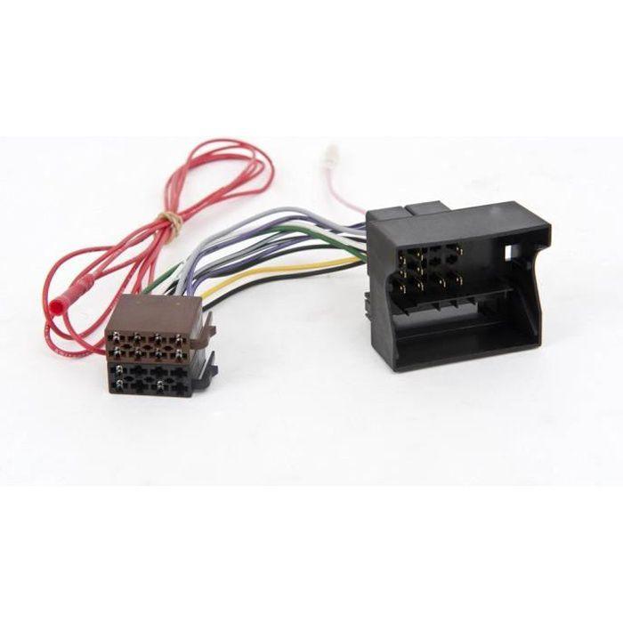 Adaptateur de cable autoradio pour Citroen C4/C5/P...
