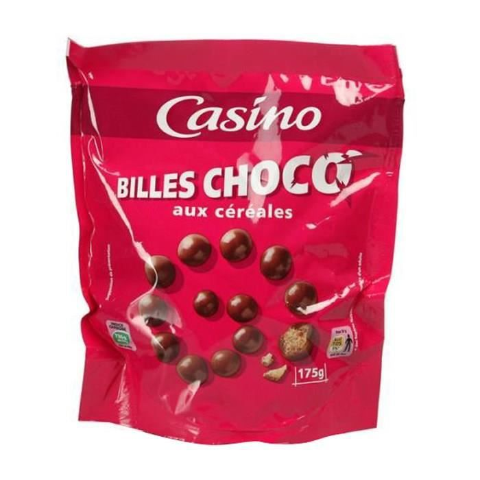 Billes de chocolat aux céréales - 175 g