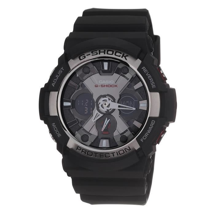 CASIO Montre Quartz G-shock GA-200-1AER Homme