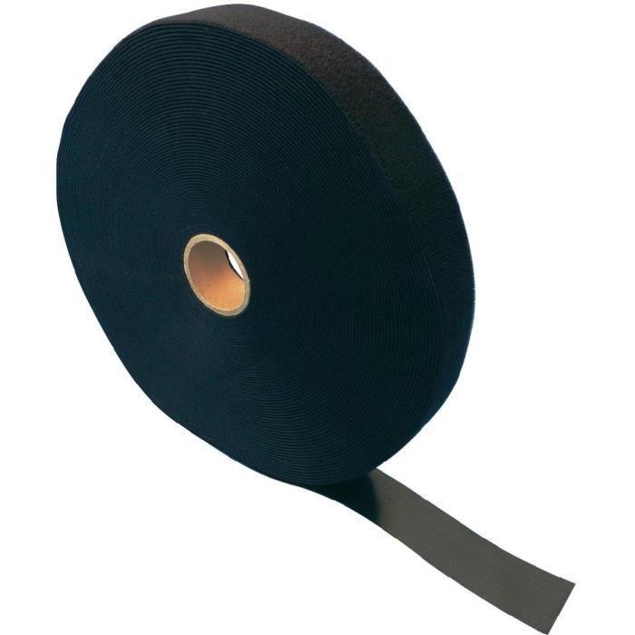 Bande autoagrippante noir 15 mm en rouleau de 2…