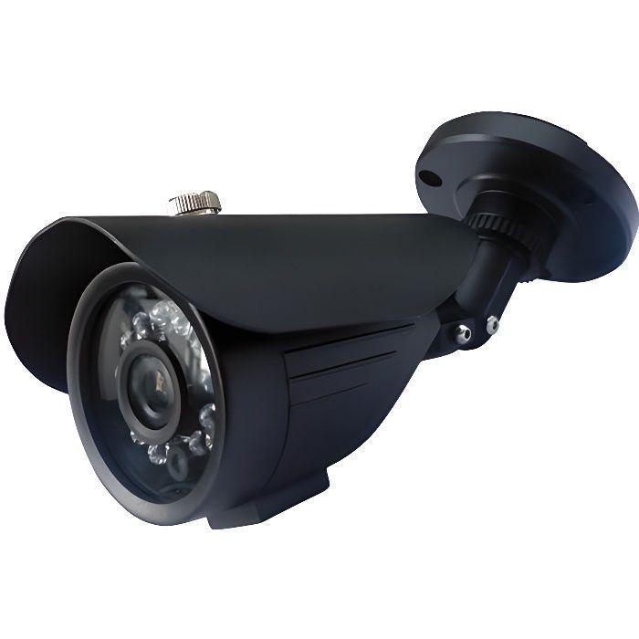 CAMERA VIDEOSURVEILLANCE CCTV Couleur IR Cut Métal