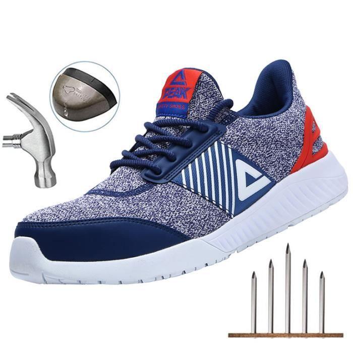 PEAK Confortable Léger Respirante Unisexes Chaussures de Travail