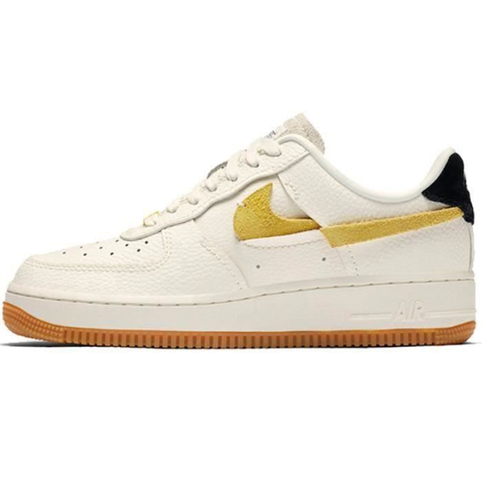 Basket Air Force 1 Air Force One AF 1 Low Chaussures de Running Homme Femme BV0740-1101