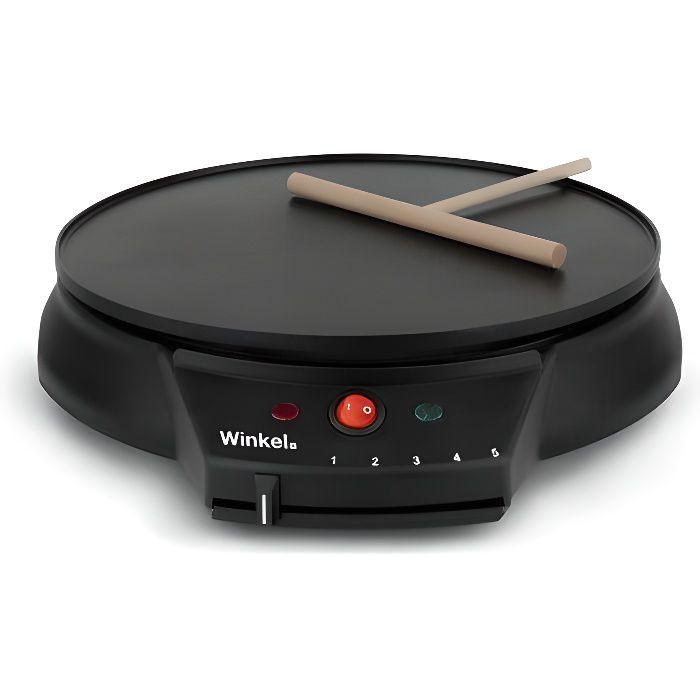 WINKEL GOO30 Crêpière électrique - Noir