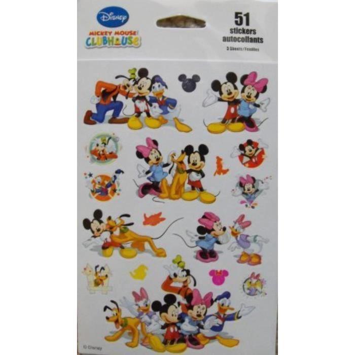 Jeu De Coloriage Hgfas Disney Mickey Mouse Clubhouse 51 Autocollants Par Squad Achat Vente Jeu De Coloriage Dessin Pochoir Cdiscount
