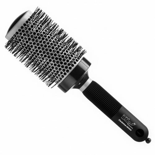 brosse ronde brushing c ramique 53 mm professionnel achat vente brosse peigne brosse ronde. Black Bedroom Furniture Sets. Home Design Ideas