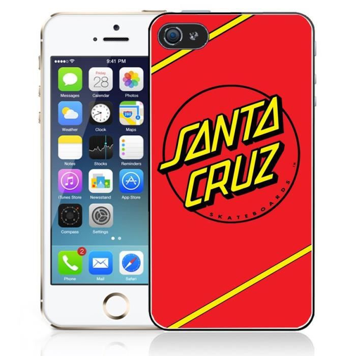 coque iphone 7 santa cruz