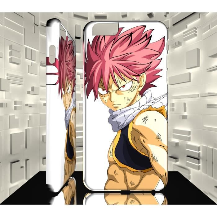 Coque Iphone 6 6S MAF Fairy Tail Natsu Dragnir 25