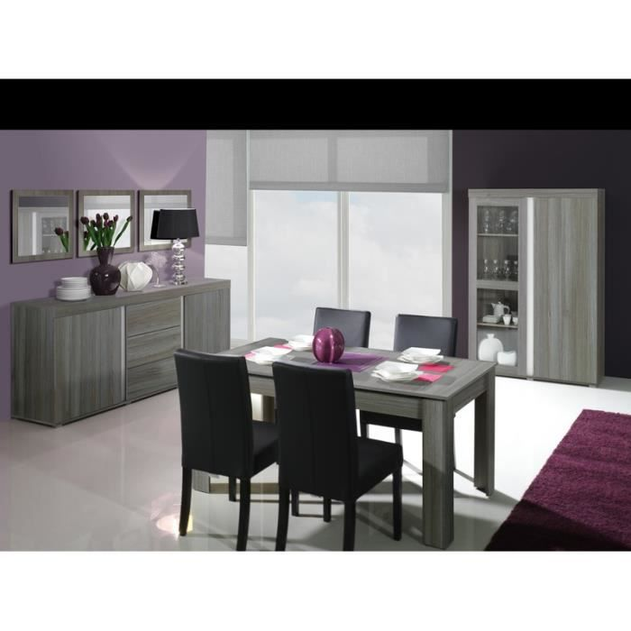 salle manger bois gris lavigne meuble house achat. Black Bedroom Furniture Sets. Home Design Ideas