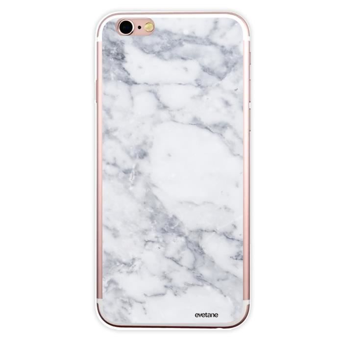 coque silicone iphone 6 marbre