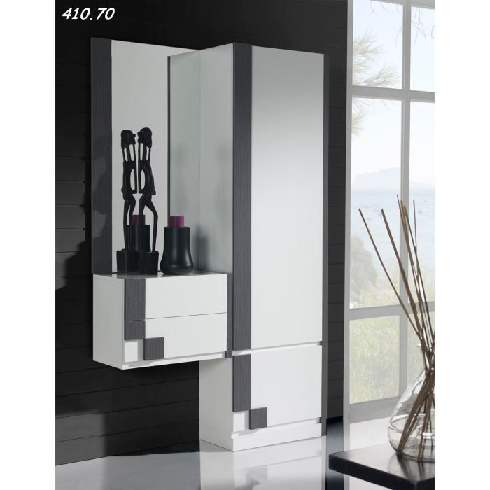 armoire d 39 entr e peek 49 fa ade tiroir et porte achat vente meuble d 39 entr e armoire d. Black Bedroom Furniture Sets. Home Design Ideas