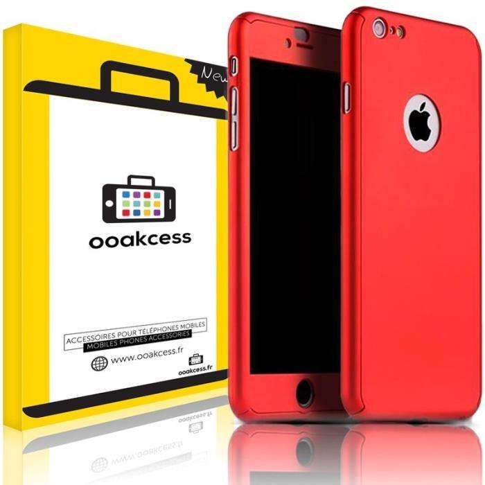 OOAKCESS® - iPhone 5 / 5S / SE - Rouge - Coque Hou