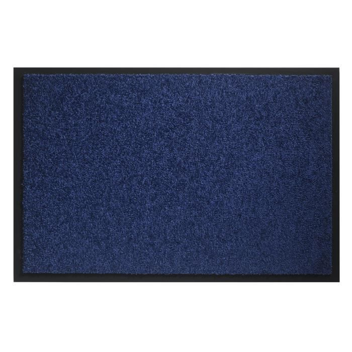 tapis d 39 entr e bleu achat vente tapis d 39 entr e bleu pas cher cdiscount. Black Bedroom Furniture Sets. Home Design Ideas