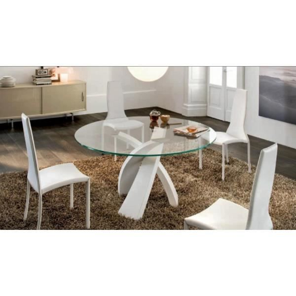 Table manger cosy tendance table ronde verre entrelacee for Table a manger tendance