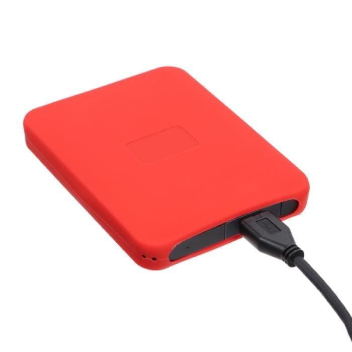 VOYAGO Housse de Protection Anti-Chocs Noire Anti-Chocs pour Disque Dur Externe Portable WD Elements et Mon Passeport Ultra 2,5 Pouces