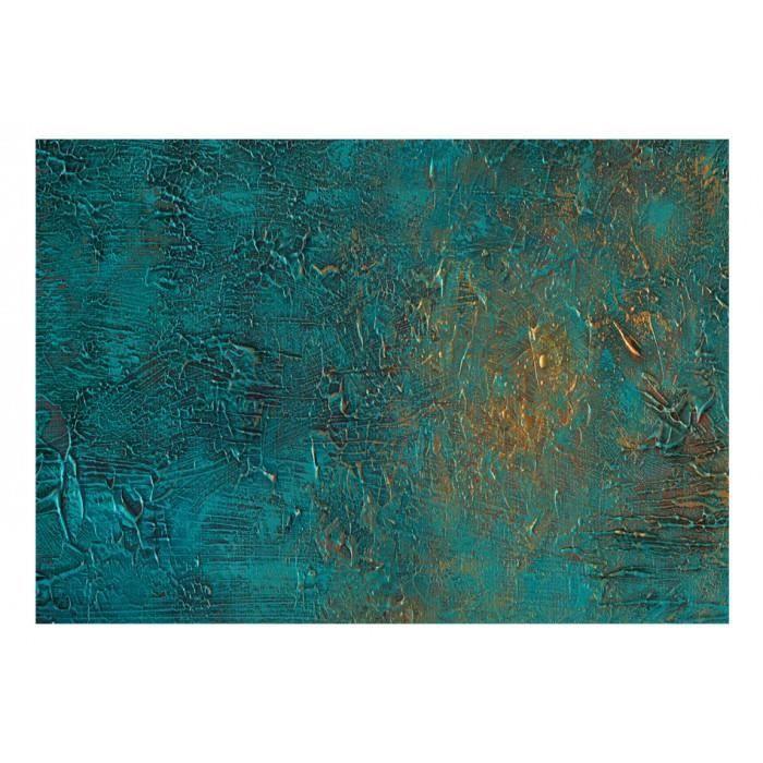 Taille 350x245 Admirable Papier Peint Artistique Fond Bleu Dessin Texture Pierre Multicolore Dore Achat Vente Papier Peint Taille 350x245 Admirable Cdiscount