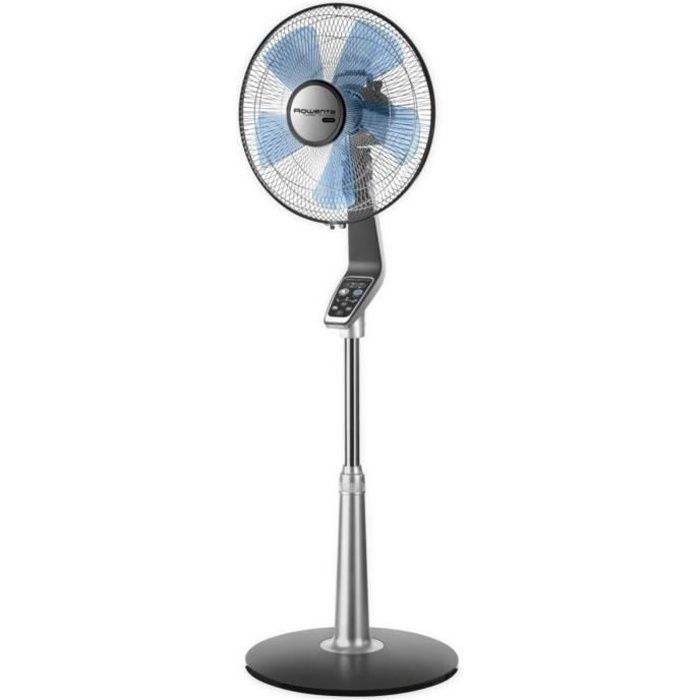 Ventilateur Rowenta Turbo Silence Extreme Vu on Stand Fan With Remote