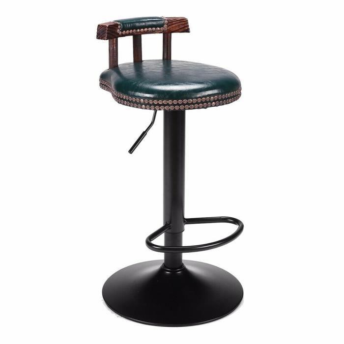 2x Tabourets de Bar Design Chaise de Bar comptoirs Tabourets De Bar Tabourets métal en. casa