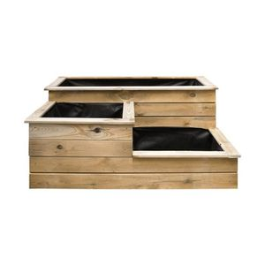 carr potager en bois achat vente carr potager en. Black Bedroom Furniture Sets. Home Design Ideas