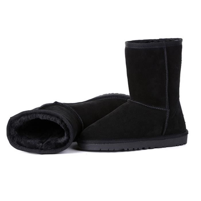 Shoes Short Fashion Snow Boots Mid Calf LQ768 Taille-14