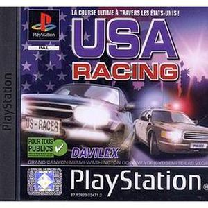 CONSOLE PS1 USA RACING