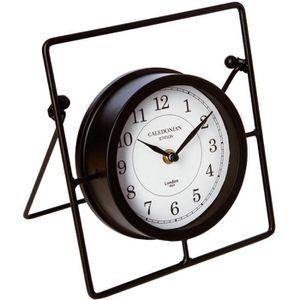 HORLOGE - PENDULE Pendule horloge à poser - Style rétro - NOIR