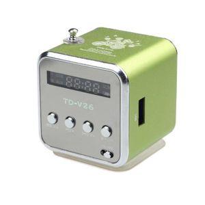 ENCEINTE NOMADE Lecteur MP3 Amplificateur Micro SD TF USB Disk hau