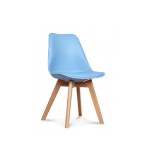 chaise scandinave bleu achat vente chaise scandinave bleu pas cher cdiscount. Black Bedroom Furniture Sets. Home Design Ideas