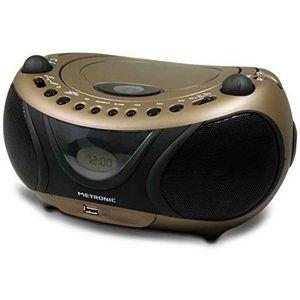 RADIO CD CASSETTE 477106 Radio - Lecteur CD - MP3 Portable Copper an