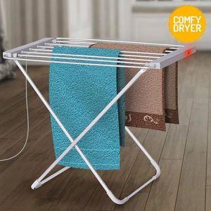 PORTE SERVIETTE Étendoir à Linge Électrique Comfy Dryer (6 Barres)