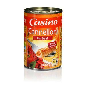 PLAT CUISINE - VIANDE  Cannelloni - 400 g