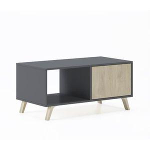 TABLE BASSE Table basse avec portes, salle à manger, modèle WI