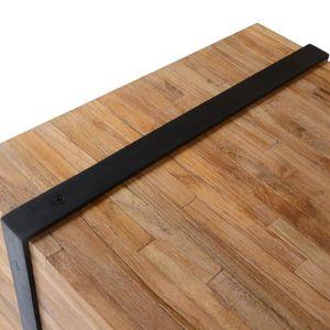 TABLE BASSE KKmoon Table Basse Rectangulaire | Table de Salon