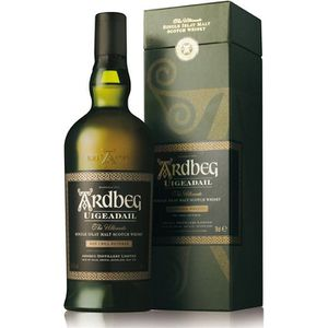 WHISKY BOURBON SCOTCH Ardbeg Uigeadail - Islay Single Malt Whisky - 54,2