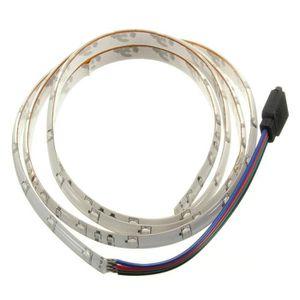 BANDE - RUBAN LED 1M 60-3528 SMD RGB etanche LED Strip Lumineuse DC1