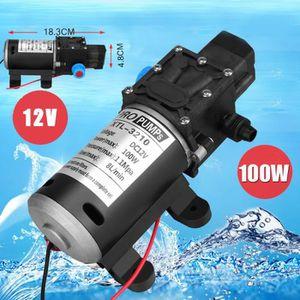 POMPE ARROSAGE Pompe à eau automatique 12V Pompe à membrane haute