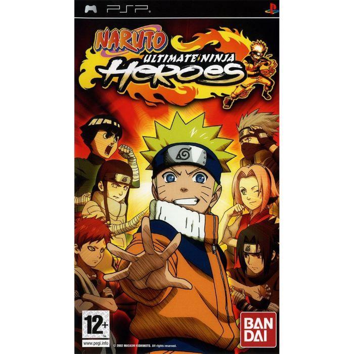 JEU PSP NARUTO ULTIMATE NINJA HEROES / Jeu console PSP