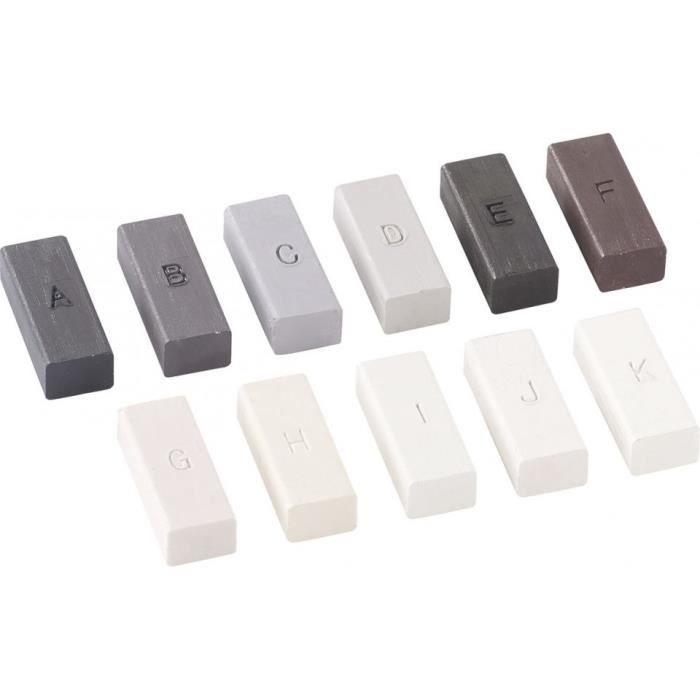 Set de cires pour réparateur sols plastiques AGT