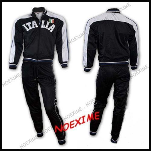 ENSEMBLE SURVETEMENT ITALIA M NOIR JOGGING ITALIE
