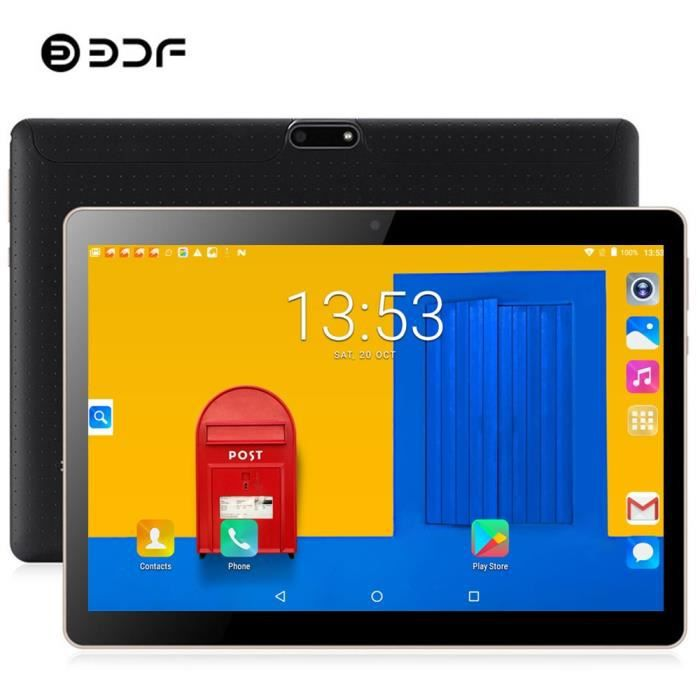 BDF 2019 Tablet 10 Inch Tablet Pc Android 7.0 3G Phone Tablet SIM Card 4GB+32GB Quad Core 1280*800 IPS WiFi Pc Tablet Android...