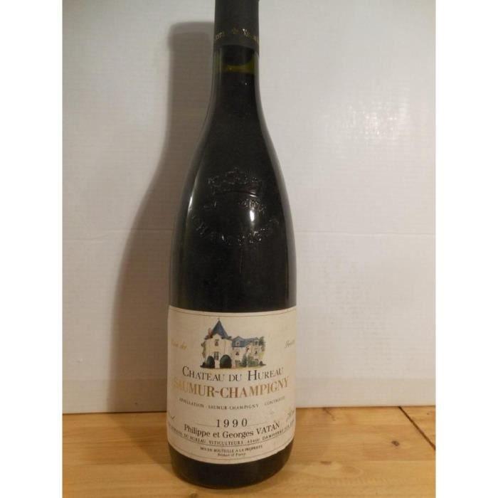 saumur-champigny château du hureau - vatan rouge 1990 - loire - anjou france
