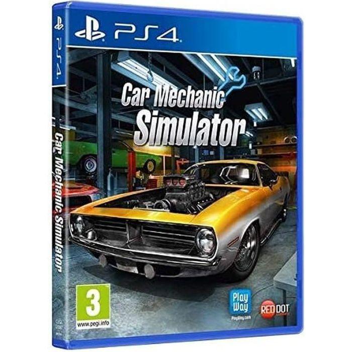 Voiture Mechanic Simulator (PS4) (PS4)
